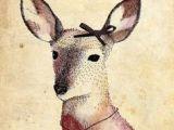 Drawing Of A Deer Girl 293 Best Oh You Sweet Deer Images In 2019 Deer Deer Girl Ideas