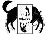 Drawing Of A Dog Jumping Odd Triad A Girl A Boy A Dog Oddyod Sekaf Dog Black Design