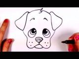Drawing Of A Dog S Face How to Draw A Cartoon Face Funny Face Drawing Lesson Youtube 1