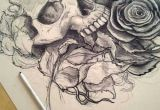 Drawing Of A Dying Rose Living Dead Drawing Tattoos Pinterest Tattoos Skull Tattoos