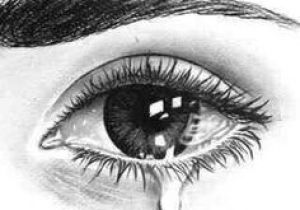 Drawing Of A Eye Crying Crying Eye Drawing Art Drawings Art Drawings Pencil Drawings