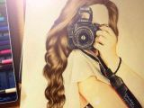Drawing Of A Girl and Camera Girl Camera and Drawing Image Girls2 Pinterest Drawings Art