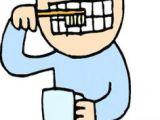 Drawing Of A Girl Brushing Teeth 30 Best Brush Your Teeth Images Teeth Art Drawings Art