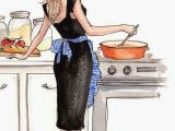 Drawing Of A Girl Cooking No Matter What You are Doing they are Always Right there