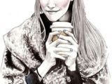 Drawing Of A Girl Drinking Starbucks 102 Best Starbucks Images I Love Coffee Starbucks Drinks Cafe Shop