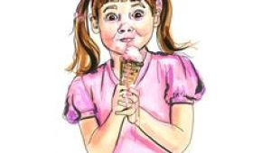 Drawing Of A Girl Eating Ice Cream 117 Best Ice Cream and Lollipops Images Drawings Paintings