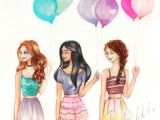 Drawing Of A Girl Holding Balloons 7 Best Girl Holding Balloons Images Girl Holding Balloons Balloon