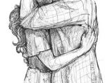 Drawing Of A Girl Hugging A Boy Kiss Sketch Of Boy and Girl Sketches Of Couples Pinterest