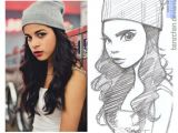 Drawing Of A Girl In A Beanie Krasky Z Facebooku Pa Ekreslene Uma Lcem 2 Sweet Pictures