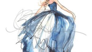 Drawing Of A Girl In A Blue Dress the Blue Dress Discovered On Imgfave Com for Sharon Pinterest