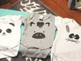 Drawing Of A Girl In A Onesie 5 Must Have Baby Onesies Made with Your Silhouette Baby Shower