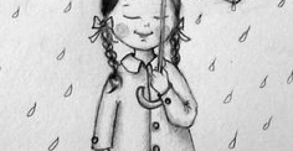 Drawing Of A Girl In the Rain 830 Best Rain Bumbershoots Images Umbrellas Drawings In the Rain