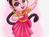 Drawing Of A Girl Making Rangoli Pin by Arijit On Character Dance Drawings Art