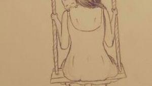 Drawing Of A Girl On A Swing Die 39 Besten Bilder Von Abmalen Sketches Drawing Art Und Pencil