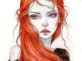 Drawing Of A Girl On Fire Fire U8q Prints Jpg 700a 991 Art Print Pinterest Drawings