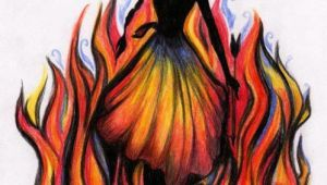 Drawing Of A Girl On Fire Girl On Fire Finally Getting to See the Hunger Games is Going to Be
