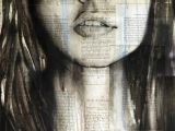 Drawing Of A Girl Rolling Her Eyes Crying Eyes Blue Eyes Painting by Darren Crowley Saatchi Art