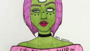 Drawing Of A Girl Rolling Her Eyes Eye Rolling Club D D D Mind Drawings Art Art Drawings