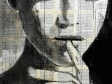 Drawing Of A Girl Rolling Her Eyes Undine Drawing by Loui Jover Saatchi Art