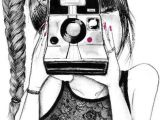 Drawing Of A Girl Taking A Photo Pin by Angelina Alcoverde D On Things I Want to Draw Drawings