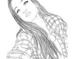 Drawing Of A Girl Tumblr 137 Best Tumblr Girl Outlines Images