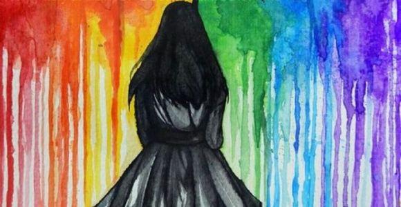 Drawing Of A Girl Walking Away Walk Away Good Stuff In 2019 Painting Art Drawings