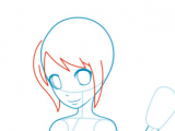 Drawing Of A Girl whole Body Step by Step How to Draw How to Draw Anime for Kids Hellokids Com