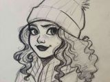 Drawing Of A Girl with A Beanie Beanie by Josjez Drawings In 2019 Pinterest Drawings Sketches