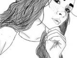 Drawing Of A Girl with Long Hair Tumblr Die 34 Besten Bilder Von Gezeichnet Tumblr Drawings Tumblr Girl