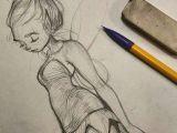 Drawing Of A Girl Writing Tinkerbell Sketch Art Artistsofinstagram Illustration Sketch