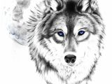 Drawing Of A Gray Wolf Wolf Tattoo Tumblr Love This Wolf and Moon the Eyes though I