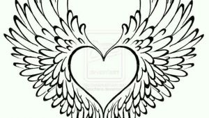 Drawing Of A Heart and Wings Heart Has Wings Tattoo Ideas Heart with Wings Tattoo Tattoos
