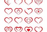 Drawing Of A Heart Shape formas Do Coraa A O Vetor Gratis O O O O U Heart Shapes Heart Heart