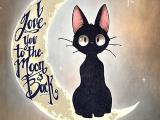 Drawing Of A Kitty Cat My Kitty Cat Kiki S Delivery Service Digital Art Art Love