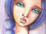 Drawing Of A Mixed Girl Fabulous Faces Week 2 Art Pinterest Art Face Art and Art