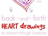 Drawing Of A Pink Heart A Simple Heart Drawing Activity to Connect with Your Kids with