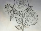 Drawing Of A Rose with Stem Pin by Miguelita Moore On Rose Drawings Rose Sketch Rose Drawing