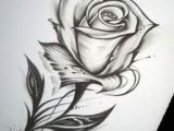 Drawing Of A Rose with Stem Rose and Stem Tattoo Art Tattoos Tattoo Drawings Rose Tattoos