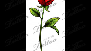 Drawing Of A Single Red Rose Sbink Single Red Rose Tattoo Ideas Tattoos Rose Tattoos Single