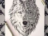 Drawing Of A Wolf Face 33 Best Tattoos for Men Tribal Wolf Sketches Images Drawings