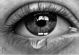 Drawing Of An Eye with A Tear Karakalem A Izimler Portraits In 2018 Pinterest Drawings Art
