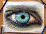 Drawing Of An Eye with Color Eye Color Pencil Drawing by atomiccircus On Deviantart In Your