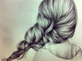 Drawing Of Back Of Girl S Hair 115 Best Drawing Hair Images Drawing Techniques Pencil Drawings