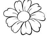 Drawing Of Daisy Flowers Daisy Flower Daisy Flower Outline Coloring Page Daisy S