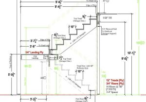 Drawing Of Dog Legged Staircase Typical Residential Stair Plan Drawing Google Search