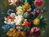 Drawing Of Flower Painting 57 Best Flowers Paintings Drawings Images Floral Paintings