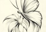 Drawing Of Flowers and butterflies butterfly Flower by Davepinsker On Deviantart Pictures In 2019