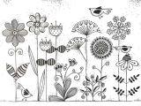Drawing Of Flowers Black and White 0d Jpg 639a 443 Pixels Sensory Pinterest Journal