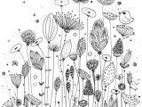 Drawing Of Flowers Garden Ameliebiggs Fleurs Coloriage Zentangle Muster Pinterest