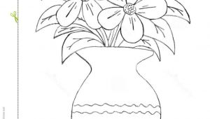 Drawing Of Flowers In A Pot How to Draw A Beautiful Flower Vase Pictures for Kids to Draw